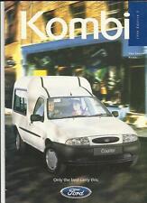 FORD COURIER KOMBI VAN SALES BROCHURE 1995 1996