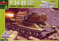 MSD 3502 SOVIET TANK T-34-85 LATE VERSION SCALE MODEL KIT 1/35 NEW WWII