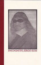 """CHARLES PLYMELL - """"INCOGNITO, ERGO SUM"""" - 1/26 LETTERED COPIES SIGNED - POETRY**"""
