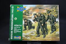 XP072 REVELL 1/35 maquette figurine 2614 Equipage de char allemand 1943 45 WWII