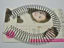 5 Pcs Black Fringe Invisible Hair Clip Comb Hairpin Bobby Pin Headband 30cm