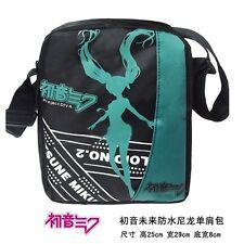 Miku Hatsune (Vocaloid) Anime Wasserdicht Tasche Messenger Bag 25x29x8cm Neu