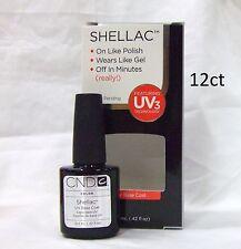 CND Shellac Gel Polish BASE COAT .42oz/12.5ml  ~ 12ct ~ Large