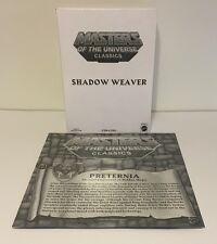 Masters of the Universe Classics Shadow Weaver W/ Preternia Map MOTUC New Sealed