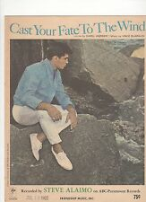 Steve Alaimo  Cast Your Faith To The Wind  US  Sheet Music