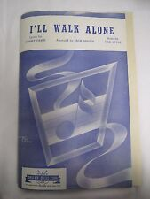 "1944 Sheet Music for ""I'LL WALK ALONE"" 14 PIECE ORCHESTRA Mayfair Music Corp *"