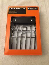 Stainless Steel Meat Claws Bear Claws 2 Pack BBQ PRO