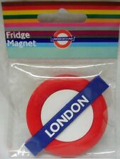 London (Underground) roundel rubber fridge magnet   (ba)