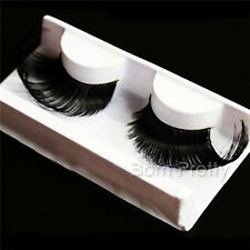 1 Pair Ultralong Curly Black False Eyelashes For Beauty Party Stage Eye Makeup