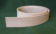 "1.5"" 8-9 oz. Cowhide Veg Tan Tooling Leather Belt/Strap 4 Slings Strops Tack"