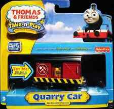 THOMAS & FRIENDS TAKE N PLAY QUARRY CAR  *BRAND NU*