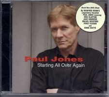 """PAUL JONES """"Starting All Over Again"""" 2009 Collectors' Choice Music CD NEW/SEALED"""