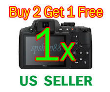 1x Nikon Coolpix P510 Digital Camera LCD Screen Protector Guard Cover Film