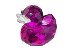 Swarovski Sweet Alicia Happy Duck Crystal Figurine MIB - 1041290
