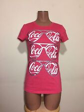 Collectabilitees Coco-Cola Red T-Shirt X-Small Old Navy Vintage Inspired Top XS