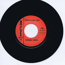 JOHNNY JANO - ROCK-A-ME LULU b/w RUSTY KERSHAW - CARRY ON (New Rockabilly Repro)