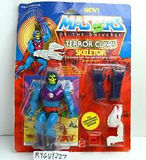 MOTU, Terror Claws Skeletor, Masters of the Universe, MOC, carded figure, sealed