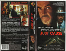 Just Cause (  ): Sean Connery, VHS PAL Video Cassette Tape