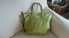 Coach Apple Green Leather Madison Julianne Satcehl #12935