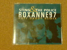 STING AND THE POLICE - ROXANNE 97 - PUFF DADDY REMIX - CD SINGLE
