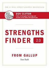 StrengthsFinder 2.0 by Tom Rath (2007, Hardcover) with Sealed Access Code NEW