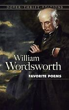 Favorite Poems (Dover Thrift Editions) William Wordsworth Paperback
