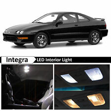 6x White Interior LED Package Kit for 1994-2001 Acura Integra + TOOL