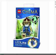 NEW LEGO LEGENDS OF CHIMA LAVAL LED LIGHT KEY CHAIN BIRTHDAY CHRISTMAS GIFT