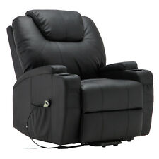 Electric Lift Power Recliner Chair Heated Massage Sofa Lounge w/ Remote Control
