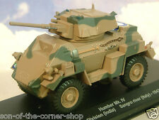 EAGLEMOSS 1/43 BRITISH HUMBER MKIV ARMOURED CAR/TANK 8TH INF.DIVISION ITALY 1943