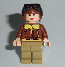 HISTORICAL Lego Amelia Earhart NEW Custom Genuine Lego Parts Female Pilot