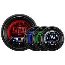 Prosport Evo 60mm Lcd Rpm Tacho 10000rpm Calibre 4 Color Con Pico Y advertencia