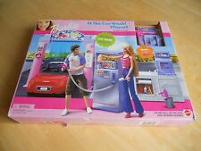 Barbie At The Car Wash Play Set  - Dated 2001 - Factory Sealed