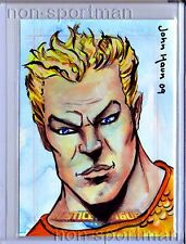 JUSTICE LEAGUE ARCHIVES AQUAMAN SKETCH JOHN HAUN