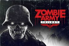 Zombie Army Trilogy Poster XBox One - XBox 360 PS3 PS4...