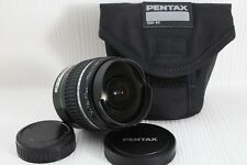 SMC PENTAX-DA FISH-EYE 10-17mm F/3.5-4.5 ED [IF] Lens for K Mount  Near Mint