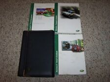 2002 Land Rover Discovery II Owner Manual User Guide SD SE 4.0L V8