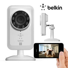 Belkin NetCam Wi-Fi Web Surveillance Camera With Night Vision F7D7601