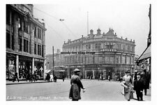 pt1489 - Co-op Stores , High Street , Rotherham , Yorkshire - photograph 6x4
