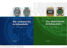 Fachbuch Die elektrische Armbanduhr, Der Weg der Uhr von analog zu digital, NEU
