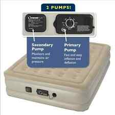Best Serta Air Mattress Raised Twin with Never Flat Pump 2-Pumps in one bed