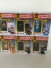 McFarlane FIVE NIGHTS at FREDDY'S 6 Construction Sets  HALL VENT CABINET Foxy