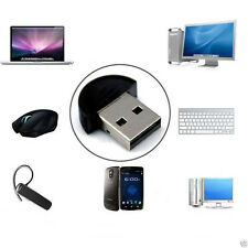 Mini Bluetooth USB 2.0 CSR4.0 Dongle Adapter For Win 8 7 XP Laptop PC Amazing FH