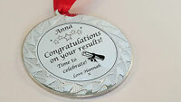 Personalised Congratulations medal/ gift for passing GCSE Exam / A- Level /Gradu