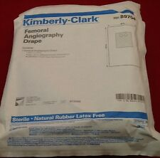 NEW KIMBERLY-CLARK FEMORAL ANGIOGRAPHY DRAPE REF 89704 76x124in