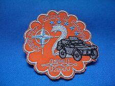 2 REGIMENT SECOND DE PERSONNE COMBAT CAR 1999 - 2000 PATCH NATO 77mm