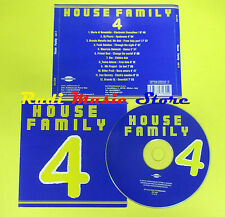 CD HOUSE FAMILY 4 compilation 2005 DI BENEDETTO DJ PIOVRA BM(C1)no lp mc dvd vhs