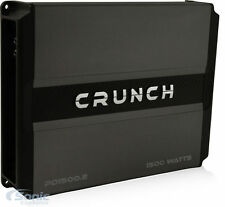 Crunch PD 1500.2 1500W 2-Channel Power Drive Full Range Class AB Car Amplifier