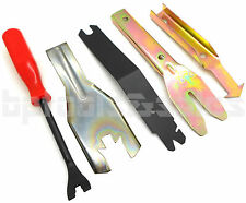 5pc Windshield Door Trim Door Panel Pry Tool Set Auto Upholstery Clip Remover