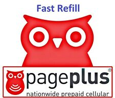 PagePlus $80 Refill -- 2000 minutes /1 Year, Applied To Phone Directly